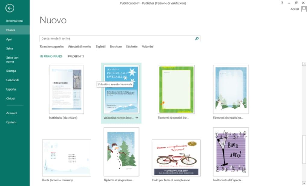 Microsoft Publisher 2013 - Download