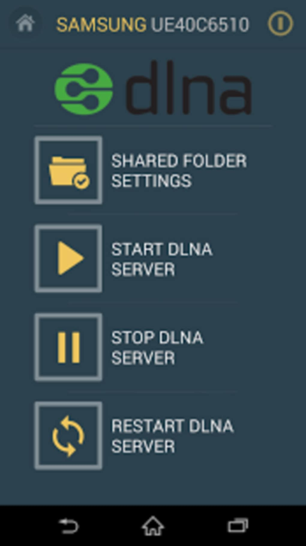 Smart TV Remote Control + DLNA for Android - Download