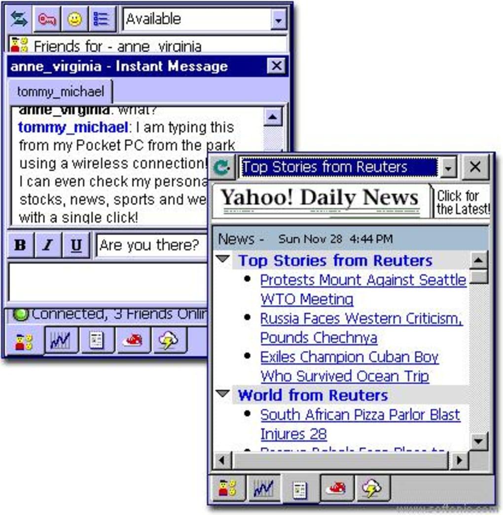 Yahoo! Messenger tải về.