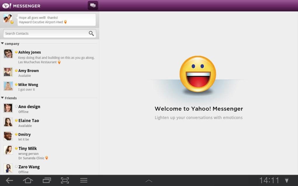 sites de rencontres Yahoo Messenger