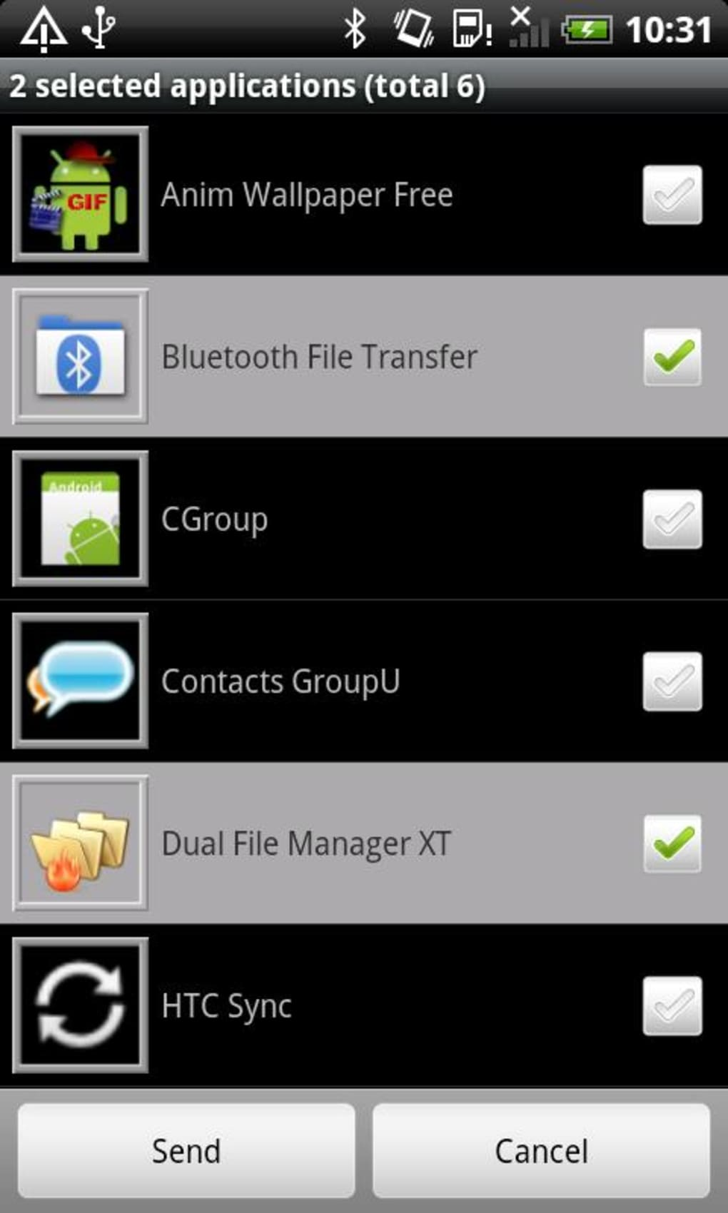 Bluetooth File Transfer für Android - Download