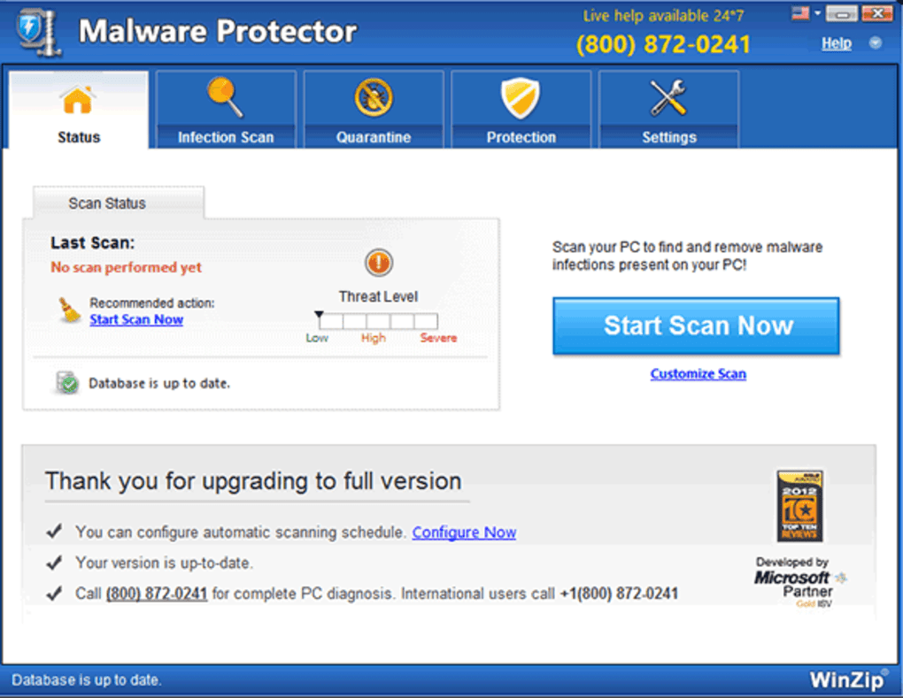 what is winzip malware protector