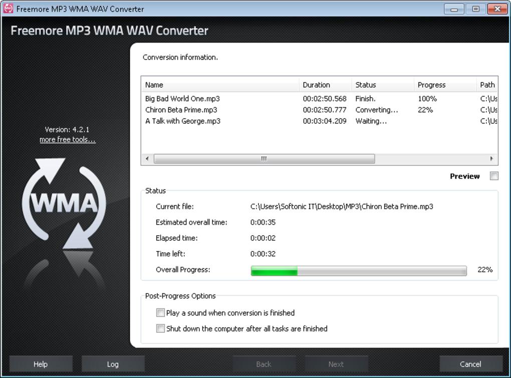 descargar free mp3 wma converter softonic reviews
