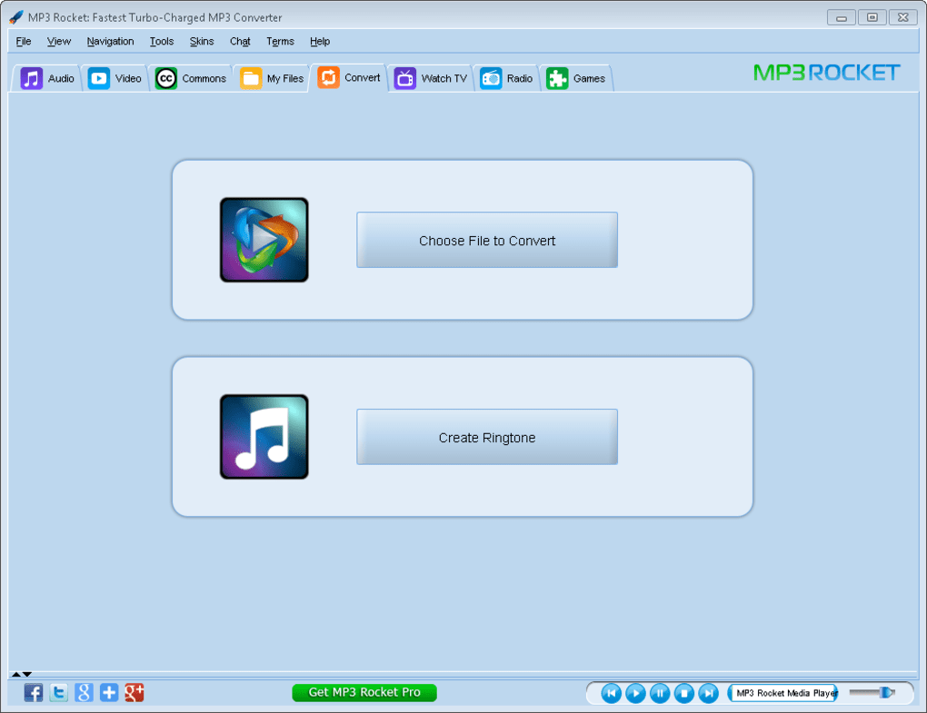 mp3 rocket 6.1.3 gratuitement
