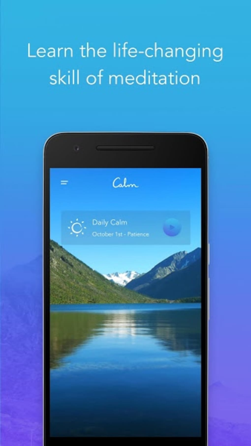calm for android