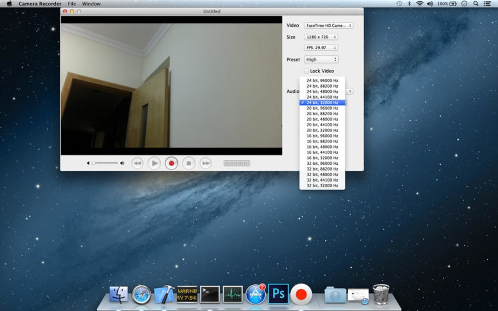 Camera Recorder Lite for Mac - Download