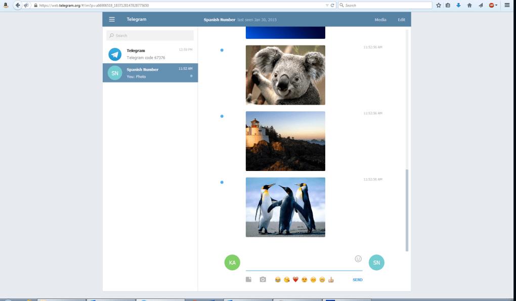 Telegram Group Widget