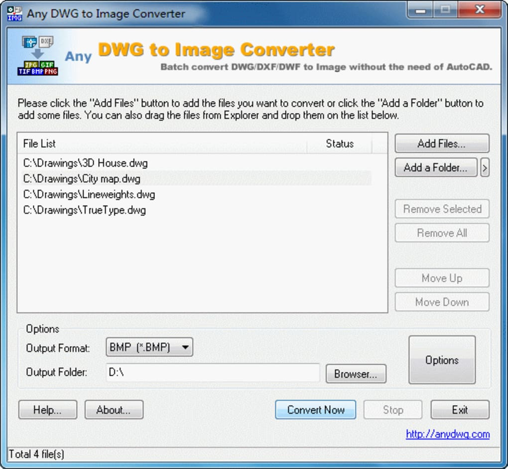 Any DWG to JPG Converter - Download