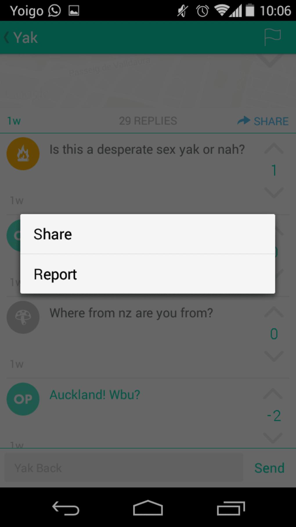 Yik Yak for iPhone - Download