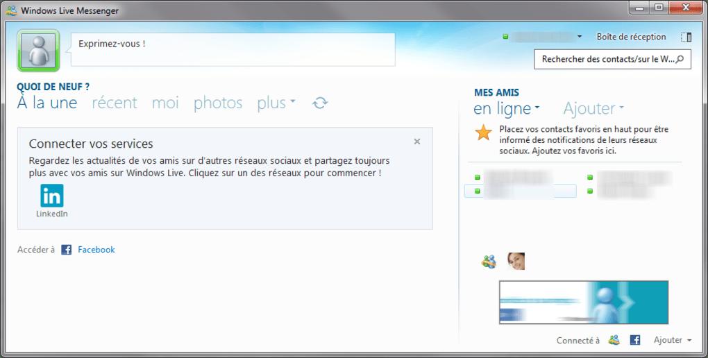windows live messenger windows télécharger