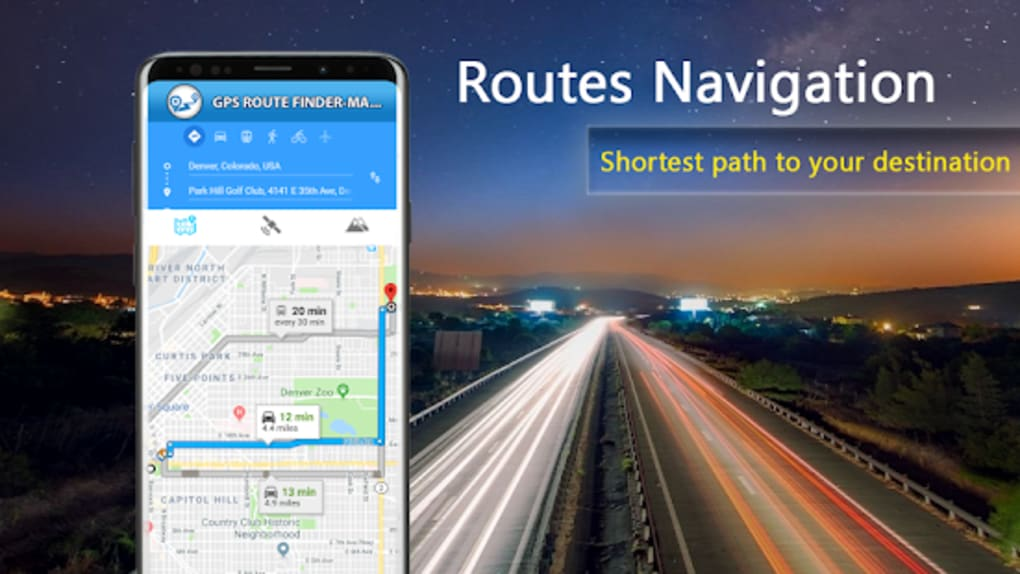 GPS Route Map Direction - Live Driving Location สำหรับ