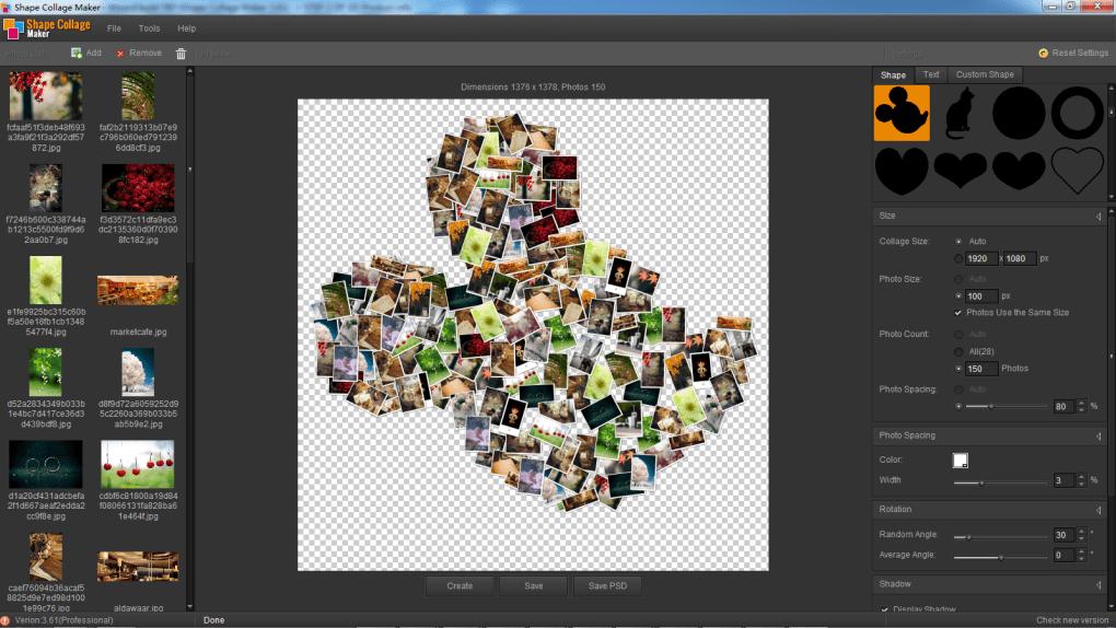 Shape Collage Maker - Download