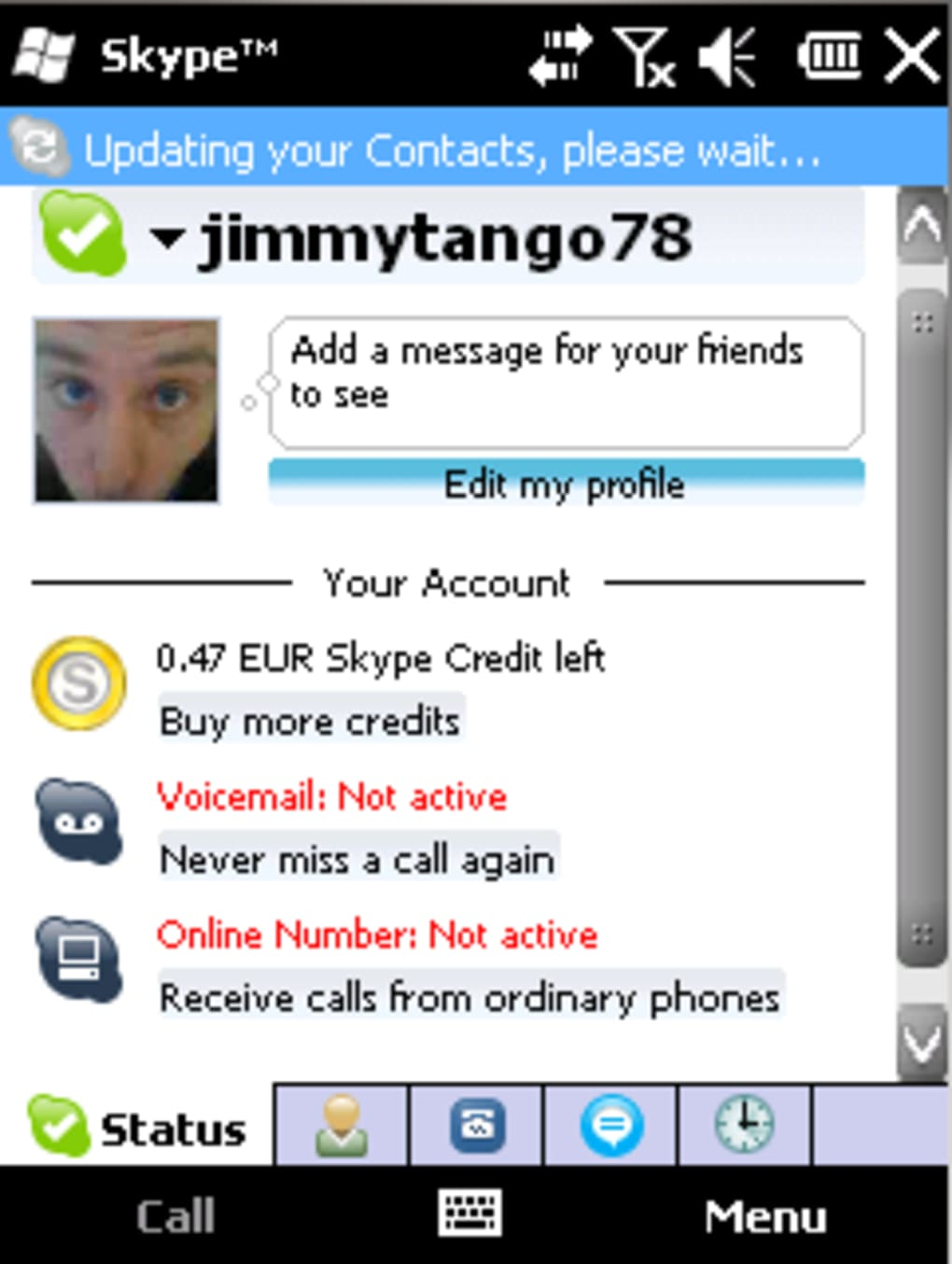 skype windows mobile 3.0.0.256 beta