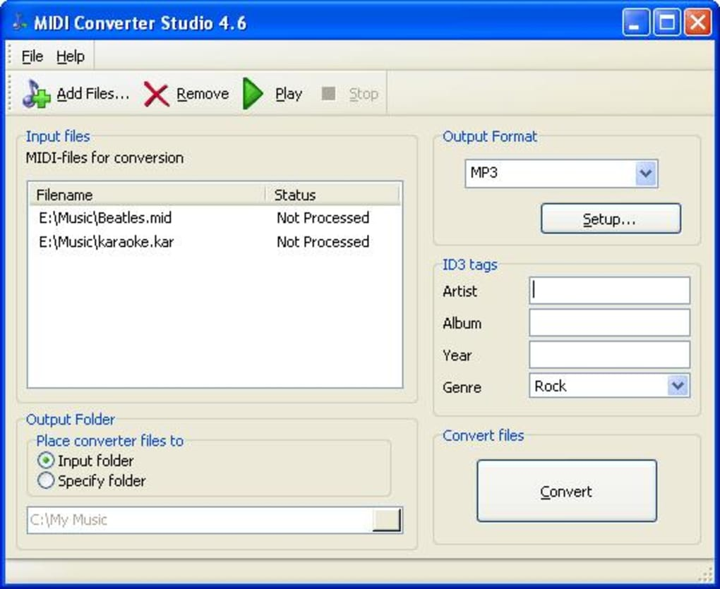 MIDI Converter Studio - Download