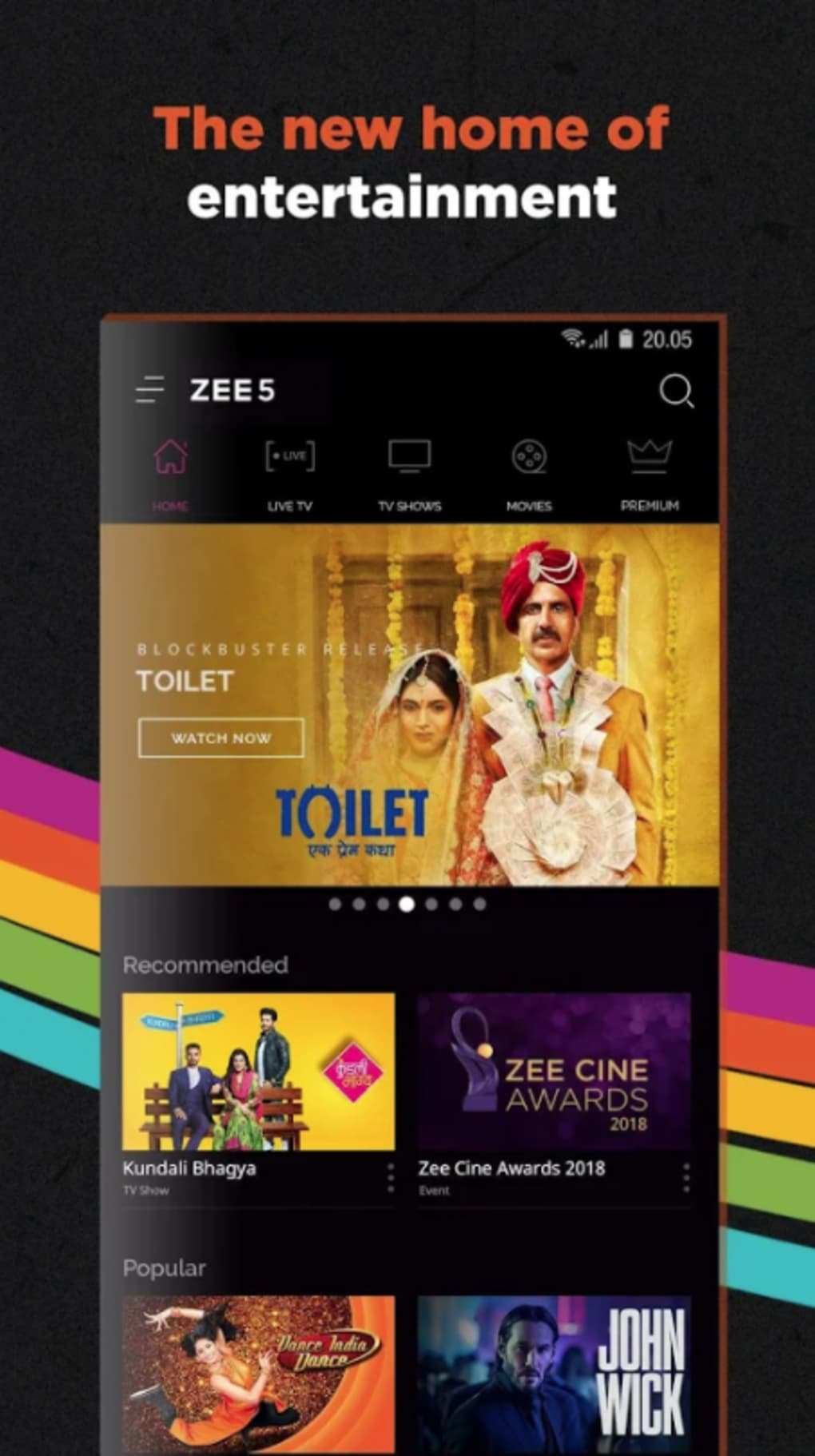 ZEE5 for iPhone - Download