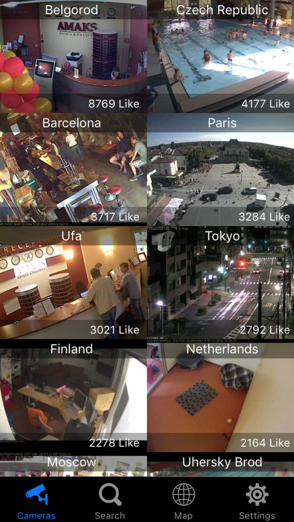 Web camera online live cctv ip video cams viewer for for Live camera website