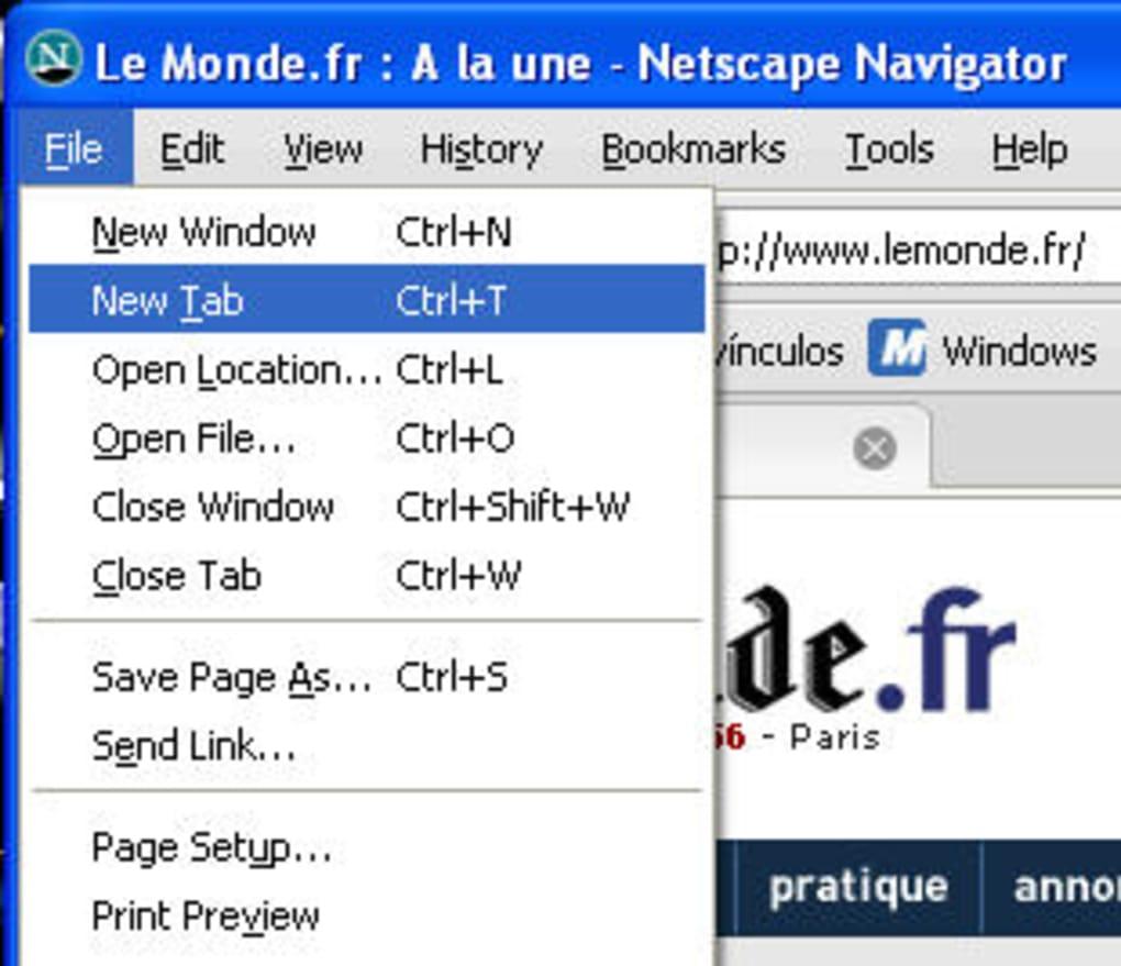 9.0.0.6 TÉLÉCHARGER NETSCAPE NAVIGATOR