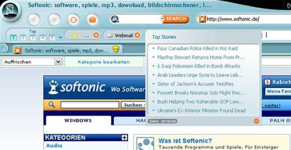 gratis o navegador netscape