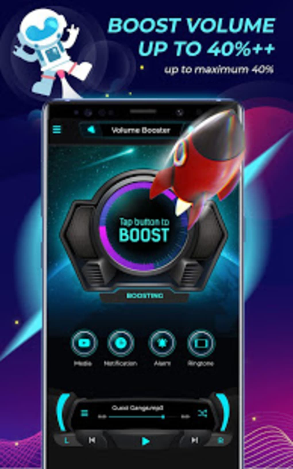 Galaxy Volume Booster Volume Up Sound Enhancer for Android