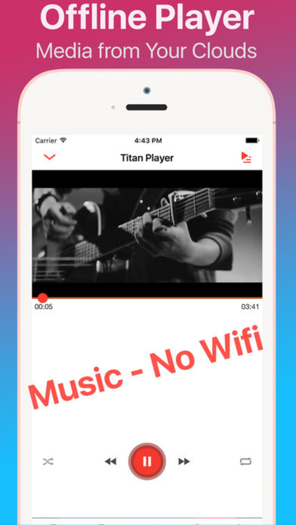 Titan: Browser, Offline Music & HD Files for Cloud for