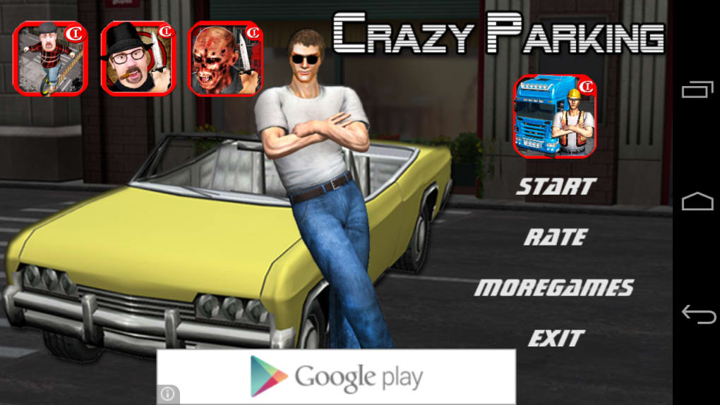 Crazy Parking Car King 3d For Android Download