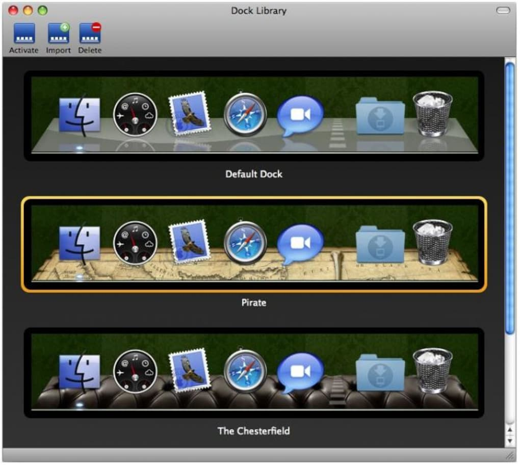 Dock Library for Mac - Download