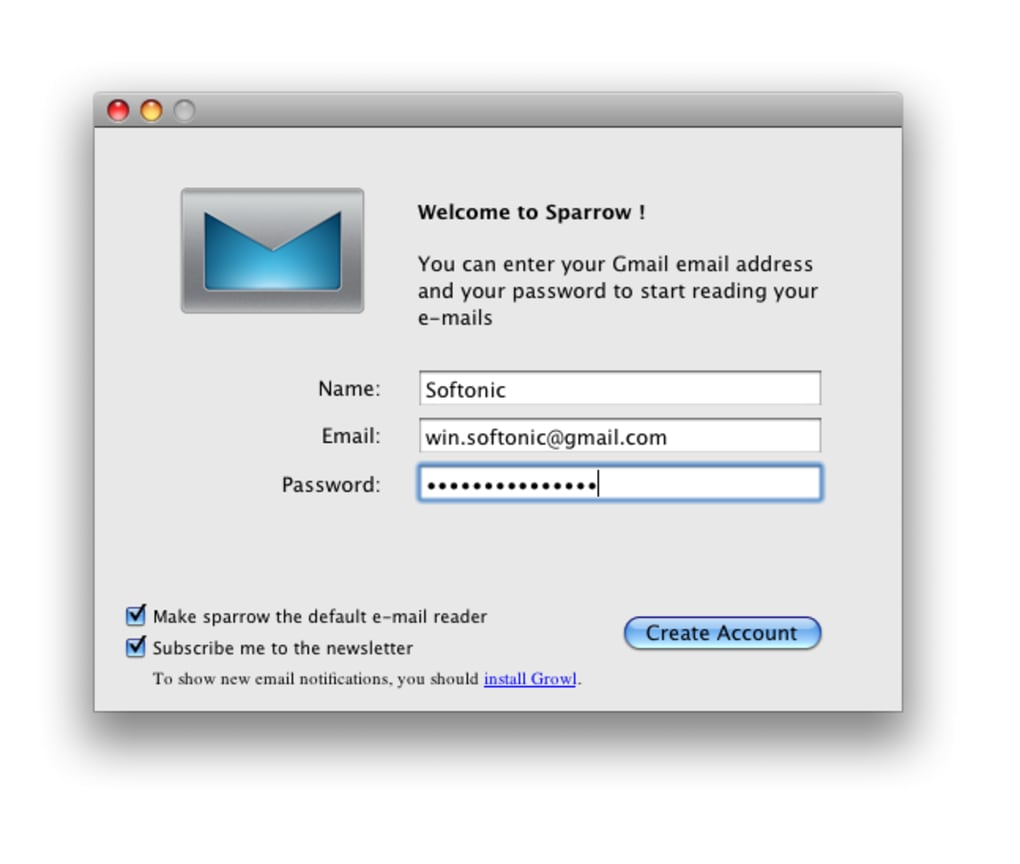 Sparrow for mac download.