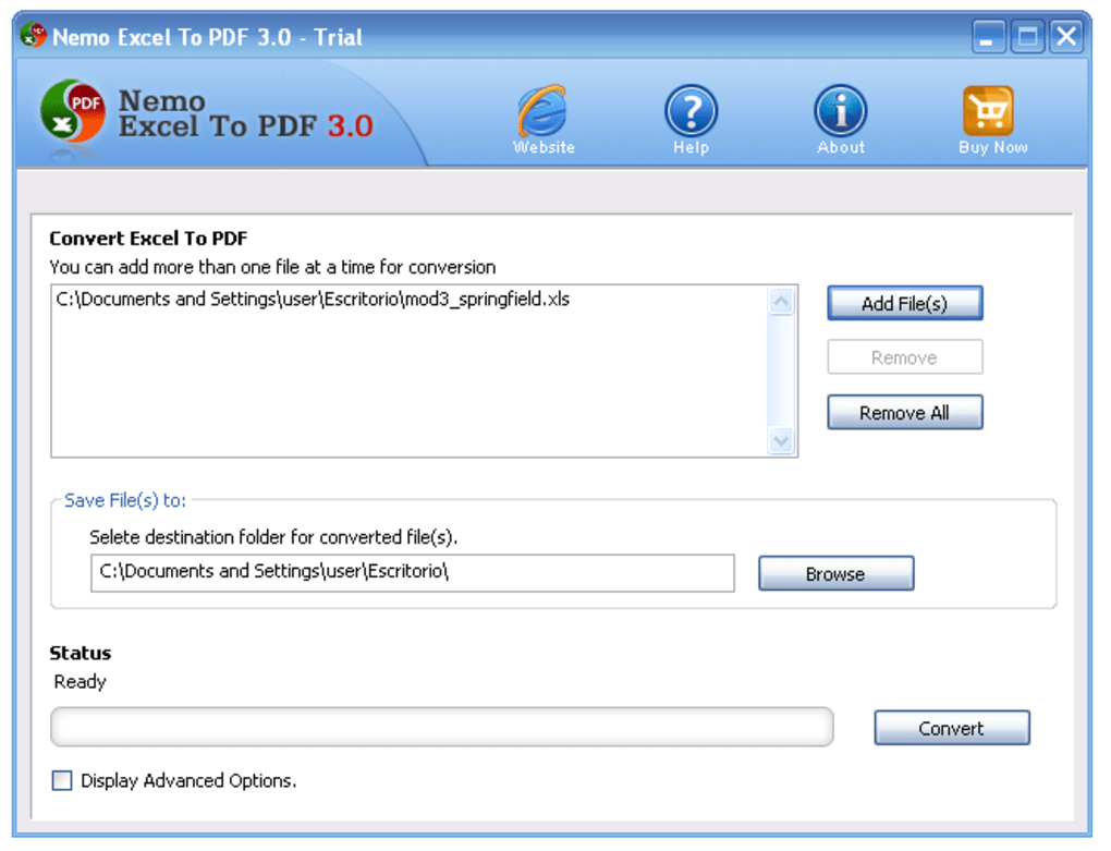 convertir pdf en excel gratuit windows 7