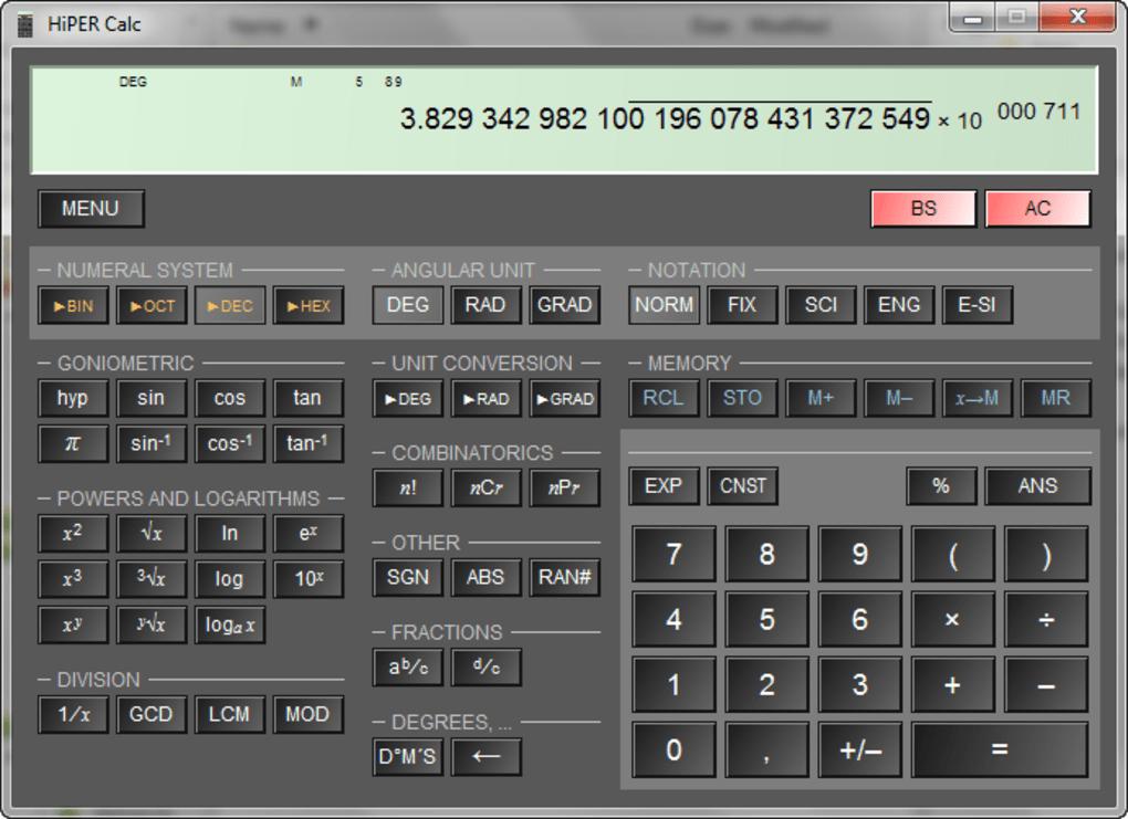 HiPER Calc - Download
