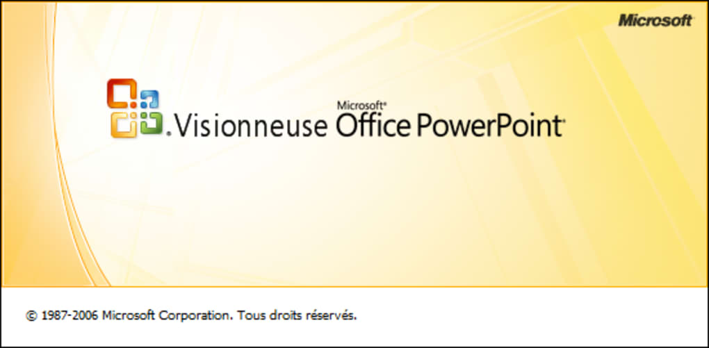 microsoft visionneuse powerpoint 2007