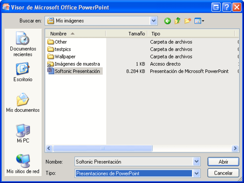 visualizador de powerpoint 2003