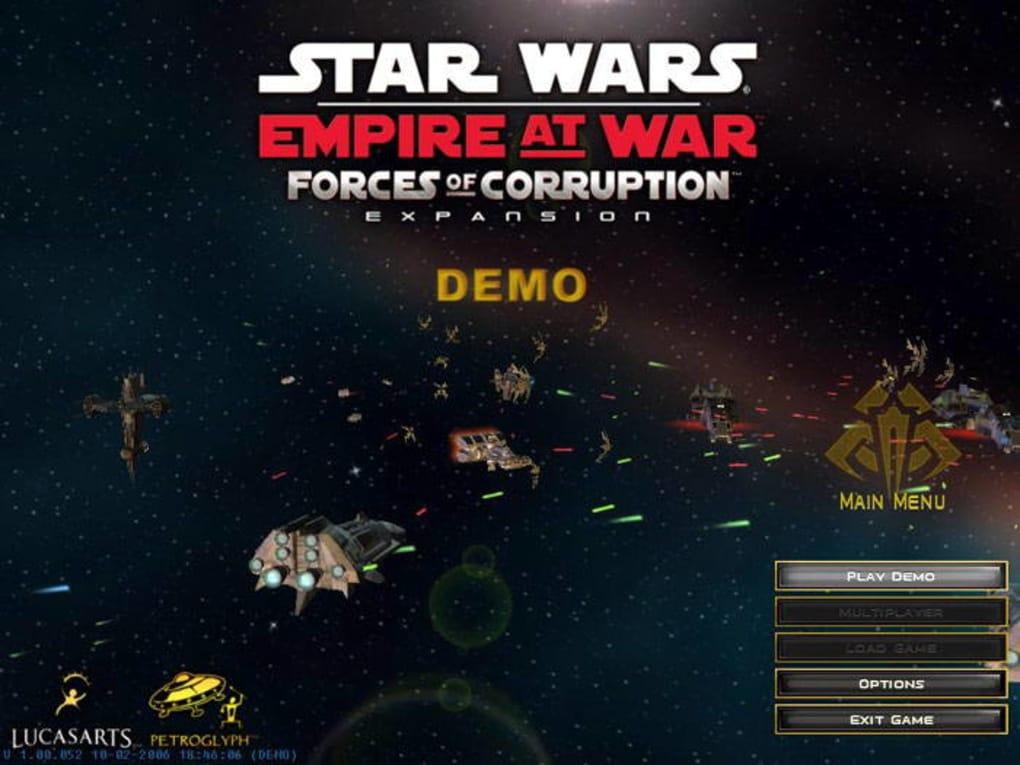 Star wars: empire at war forces of corruption game mod elite's.