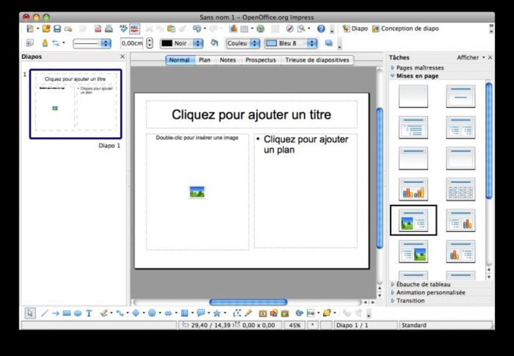 open office pour mac os x 10.8.5