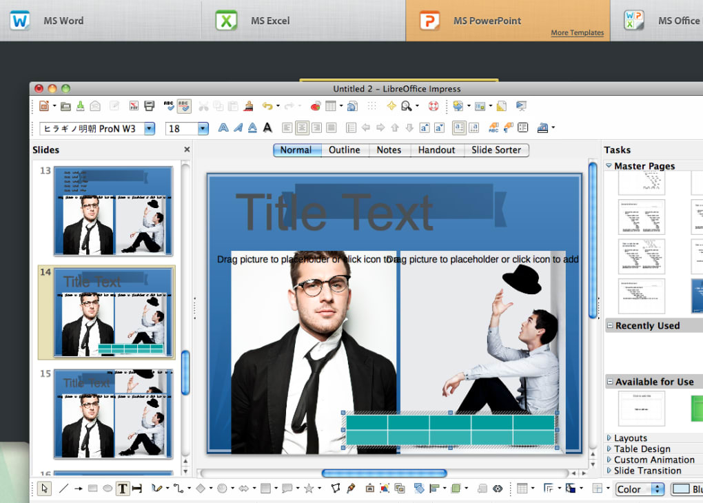 templates for ms office for mac ダウンロード