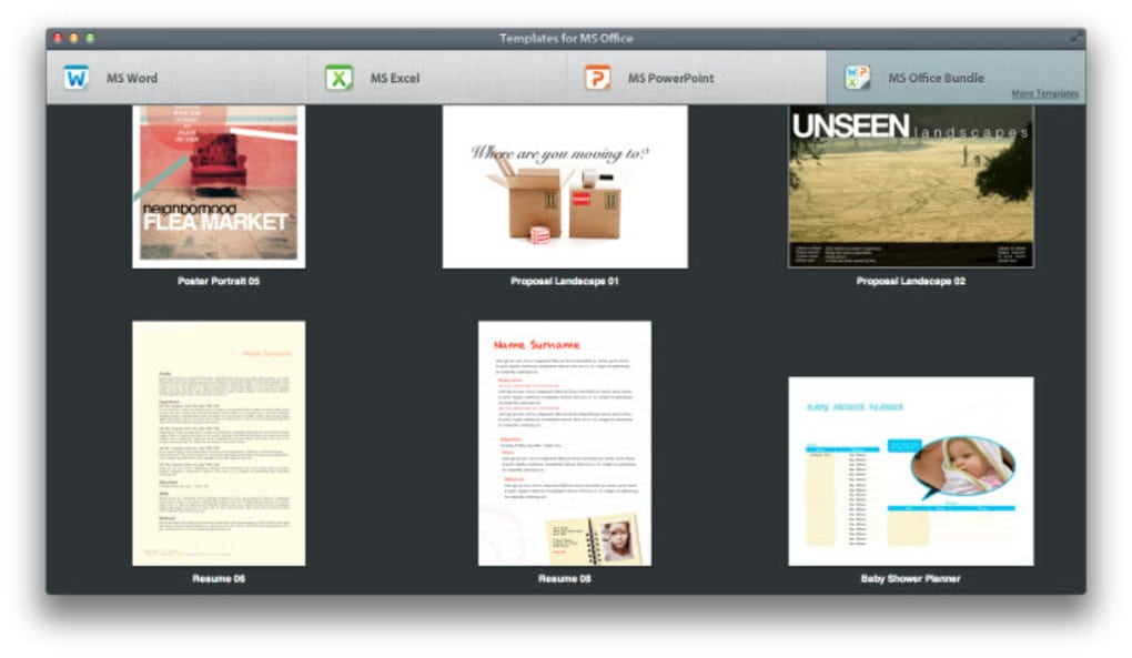 Templates For Ms Office Für Mac Download