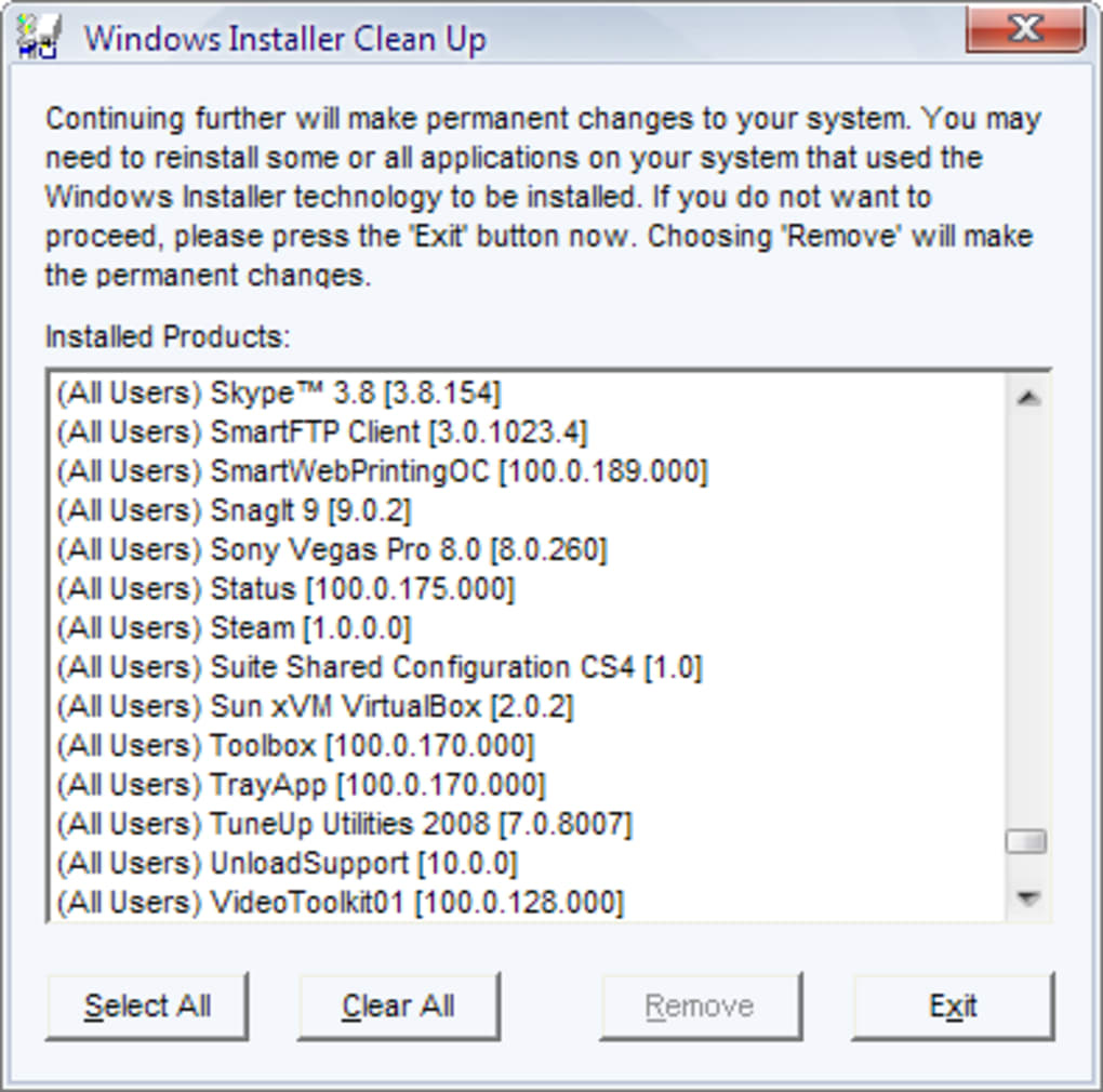 WINDOWS MSICUU2 EXE TÉLÉCHARGER INSTALLER CLEANUP