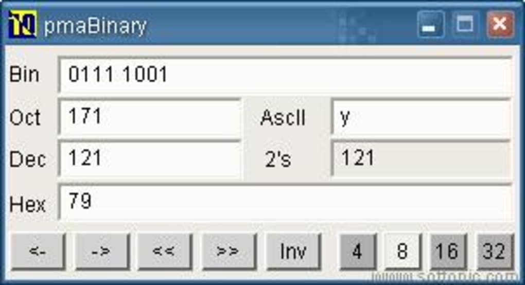 Binary Converter (pmaBinary) - Download