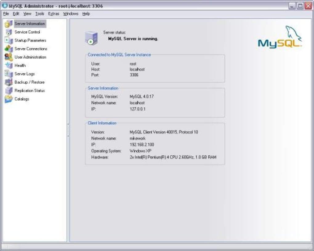 mysql software download for windows 10