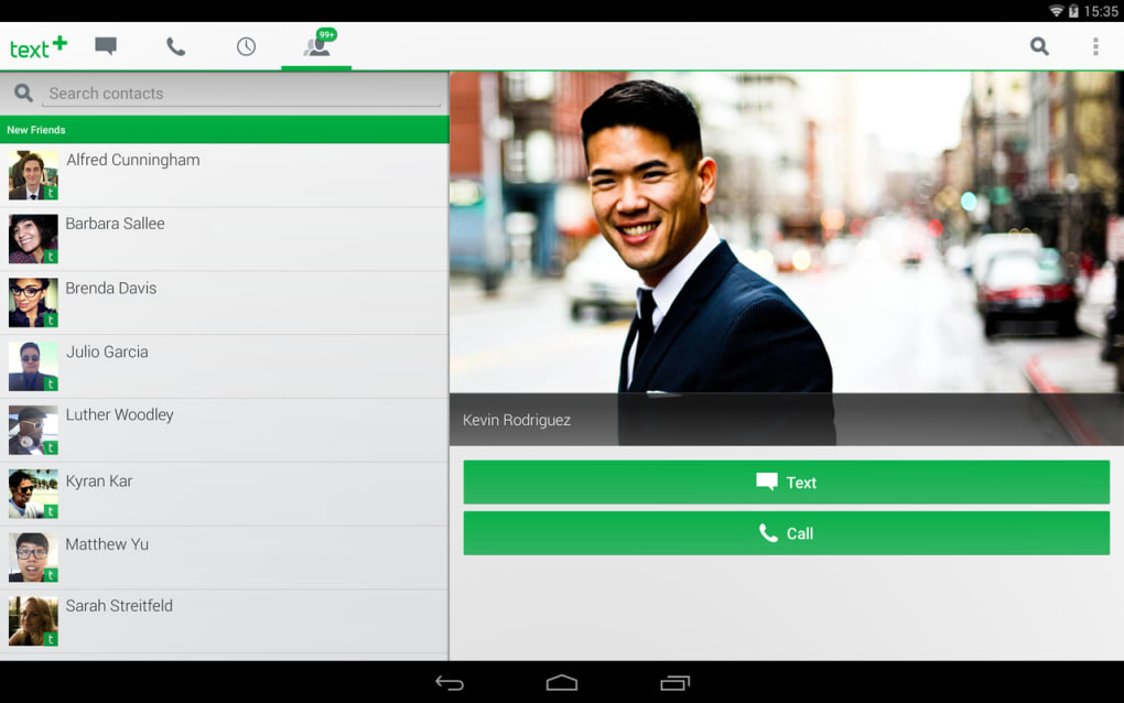 textPlus Free Text + Calls for Android - Download