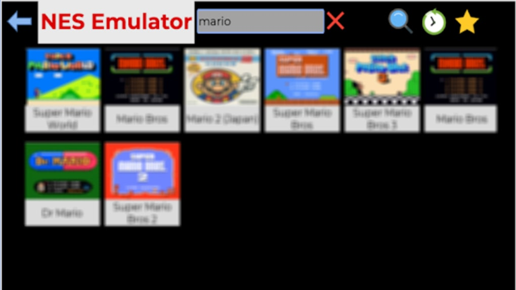 retro 8 nes emulator apk full