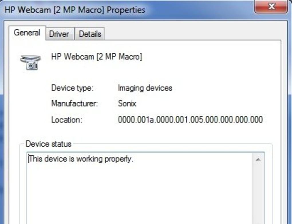 HP Webcam Software - Download