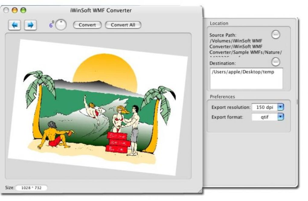 how to view wmf files on mac