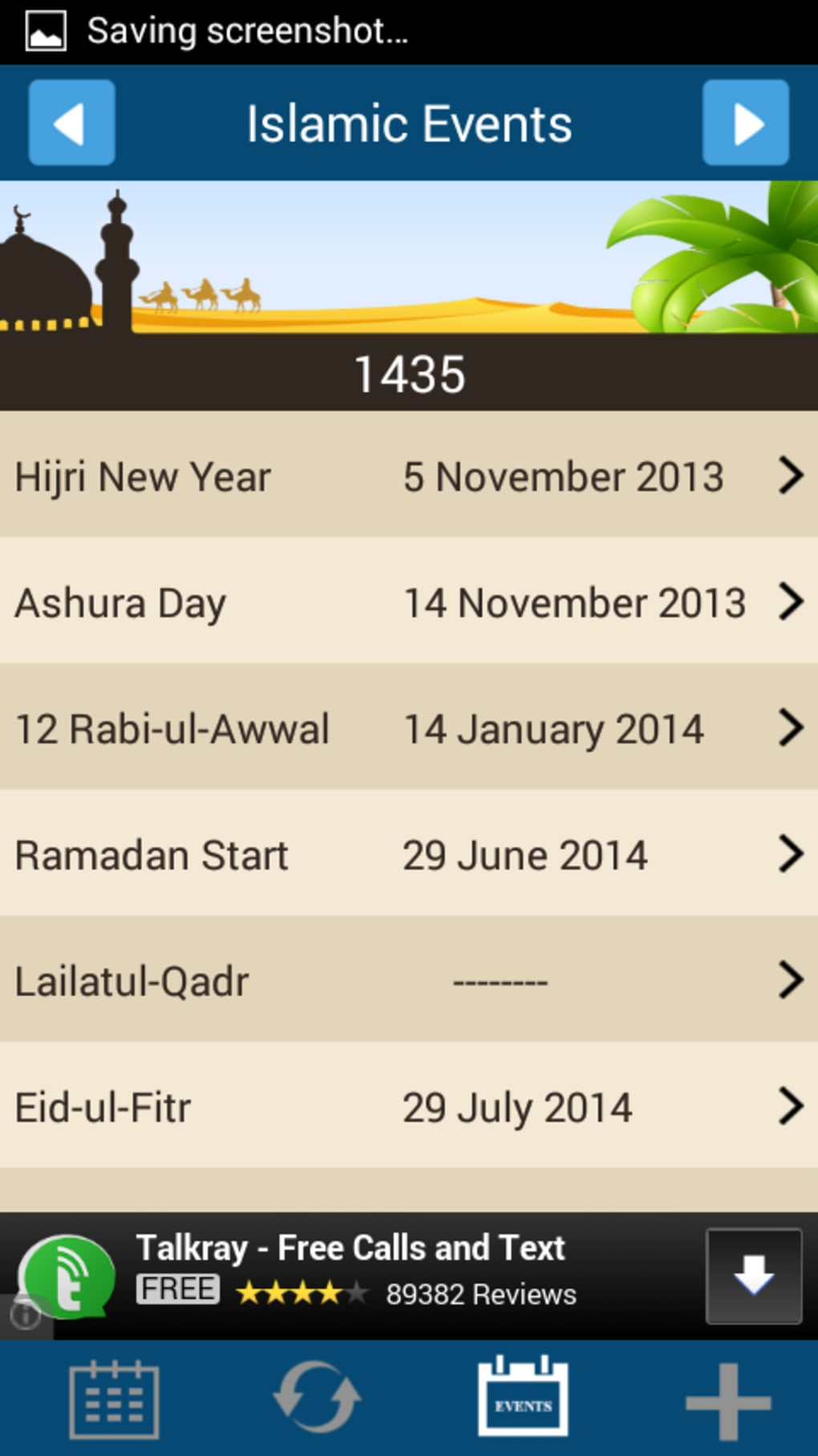 Islamic Calendar for Android - Download