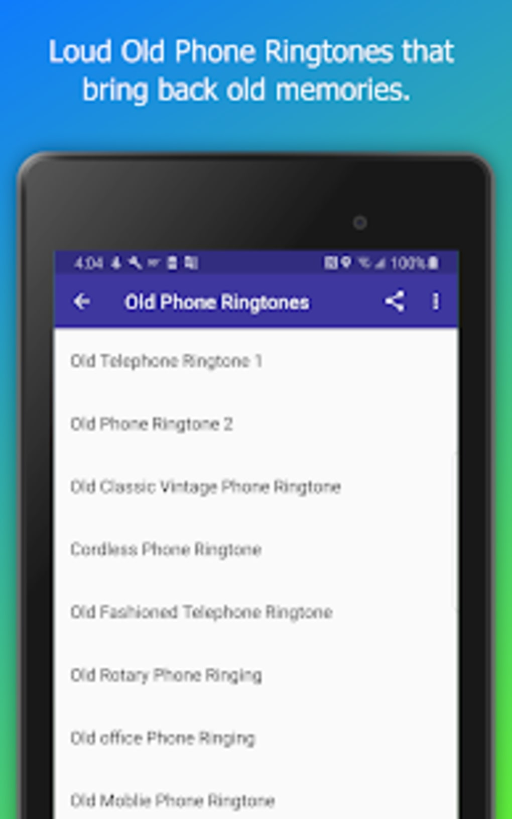 Old Phone Ringtones Sounds Alarms Free for Android - Download