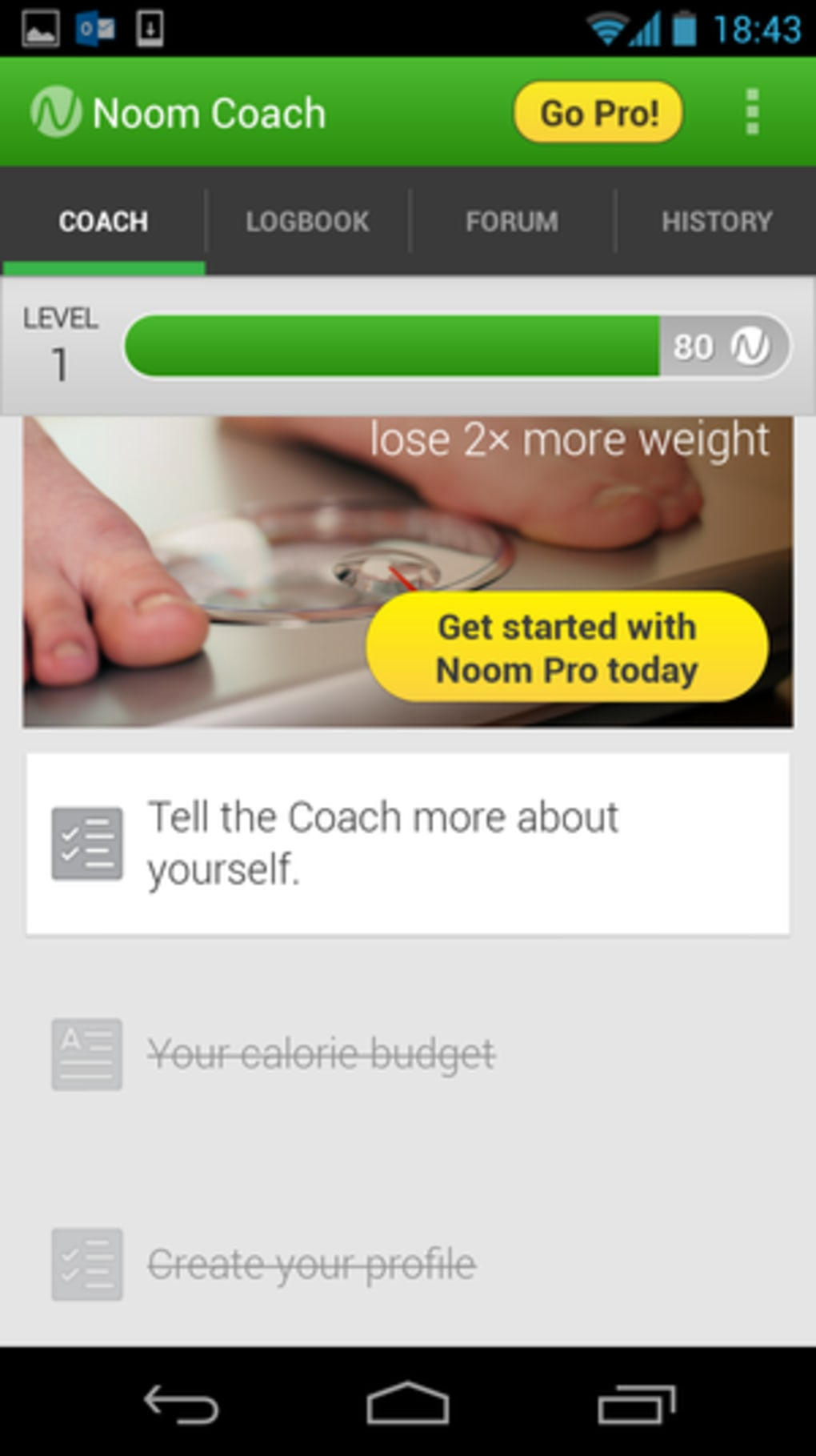 Noom for iPhone - Download