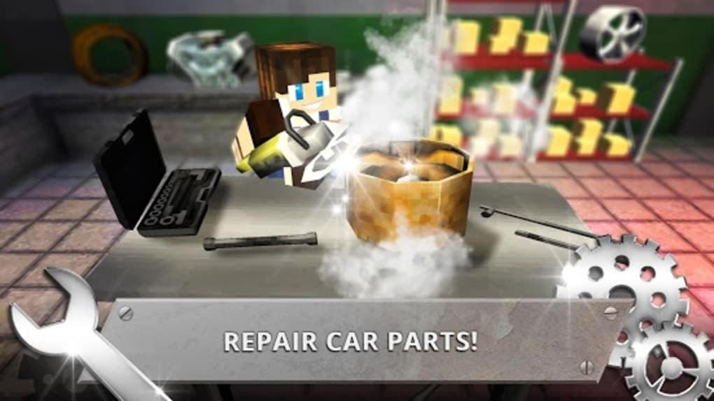 Car Workshop Craft Garage Mechanic Simulator 2018
