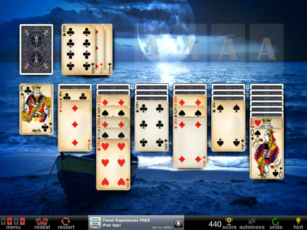 Full deck solitaire for iphone download.