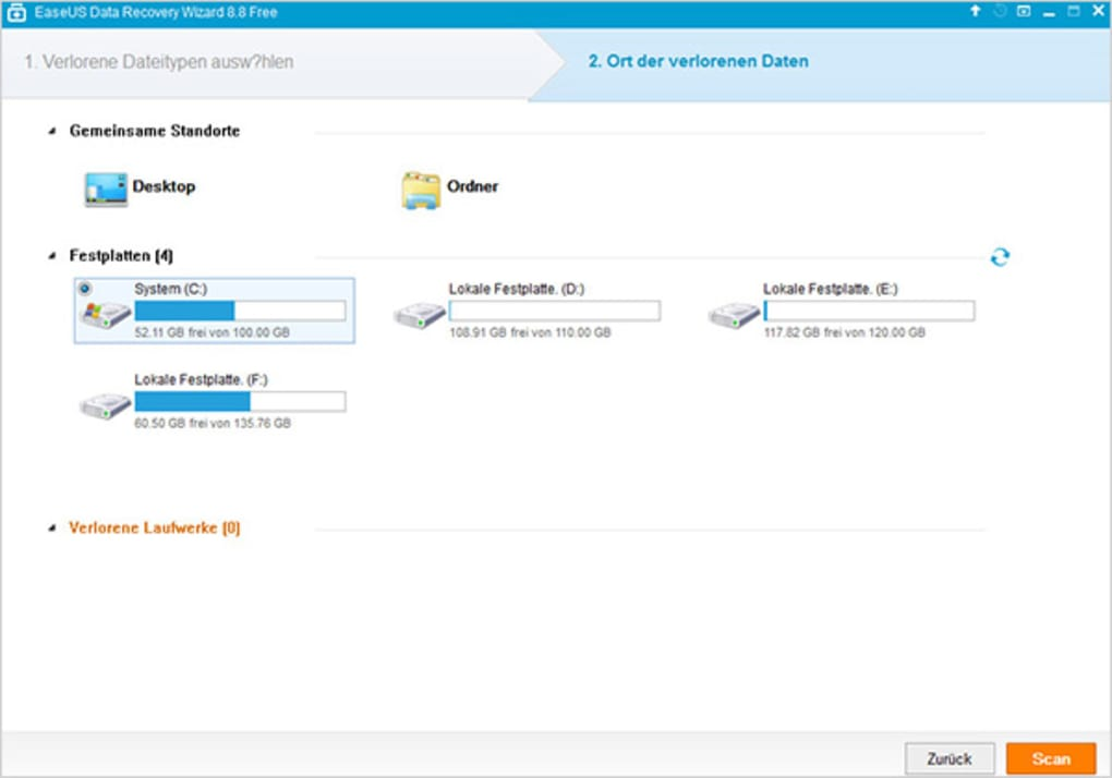 easeus recovery download