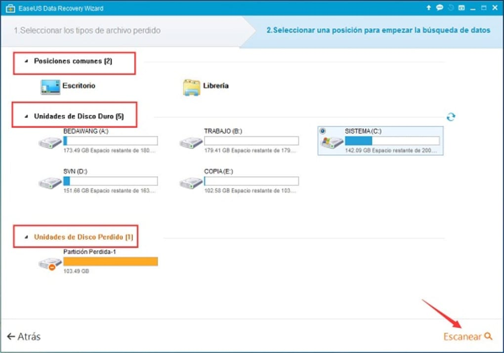 easeus data recovery wizard 5.6.1 gratuit