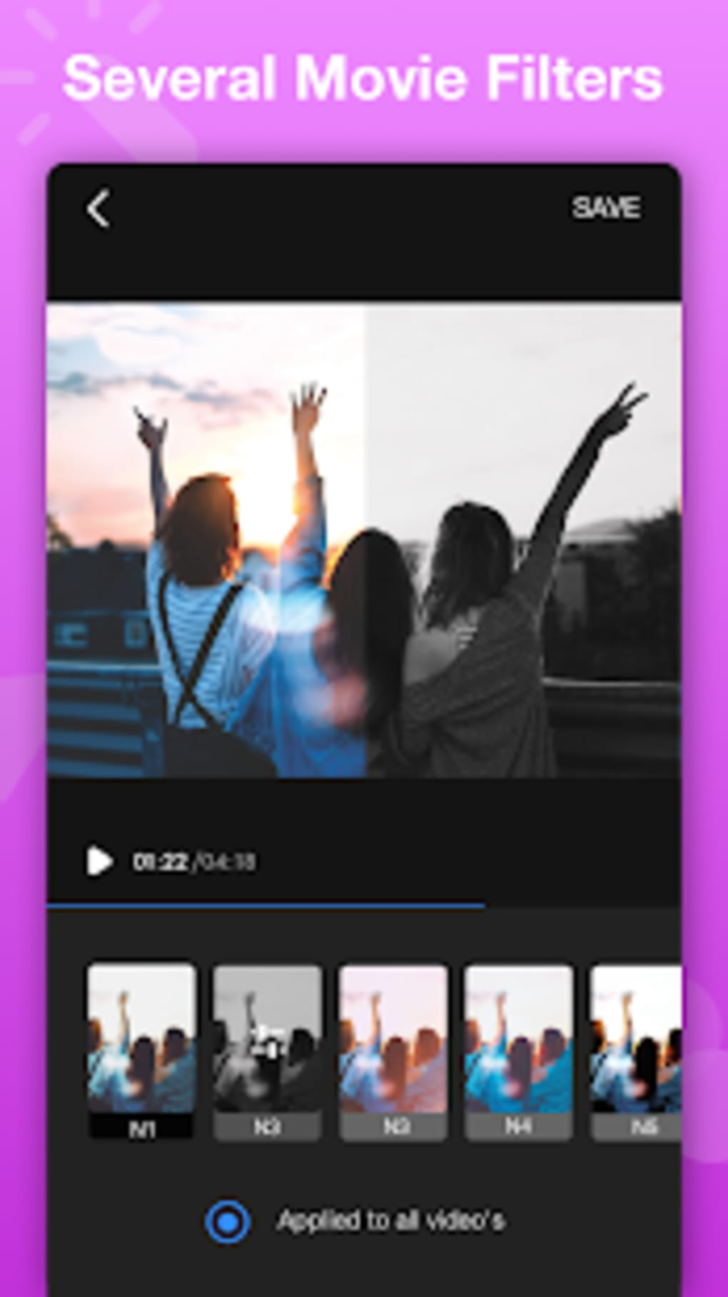 Vlog Editor for YouTube Video Editor Free- VlogU for Android